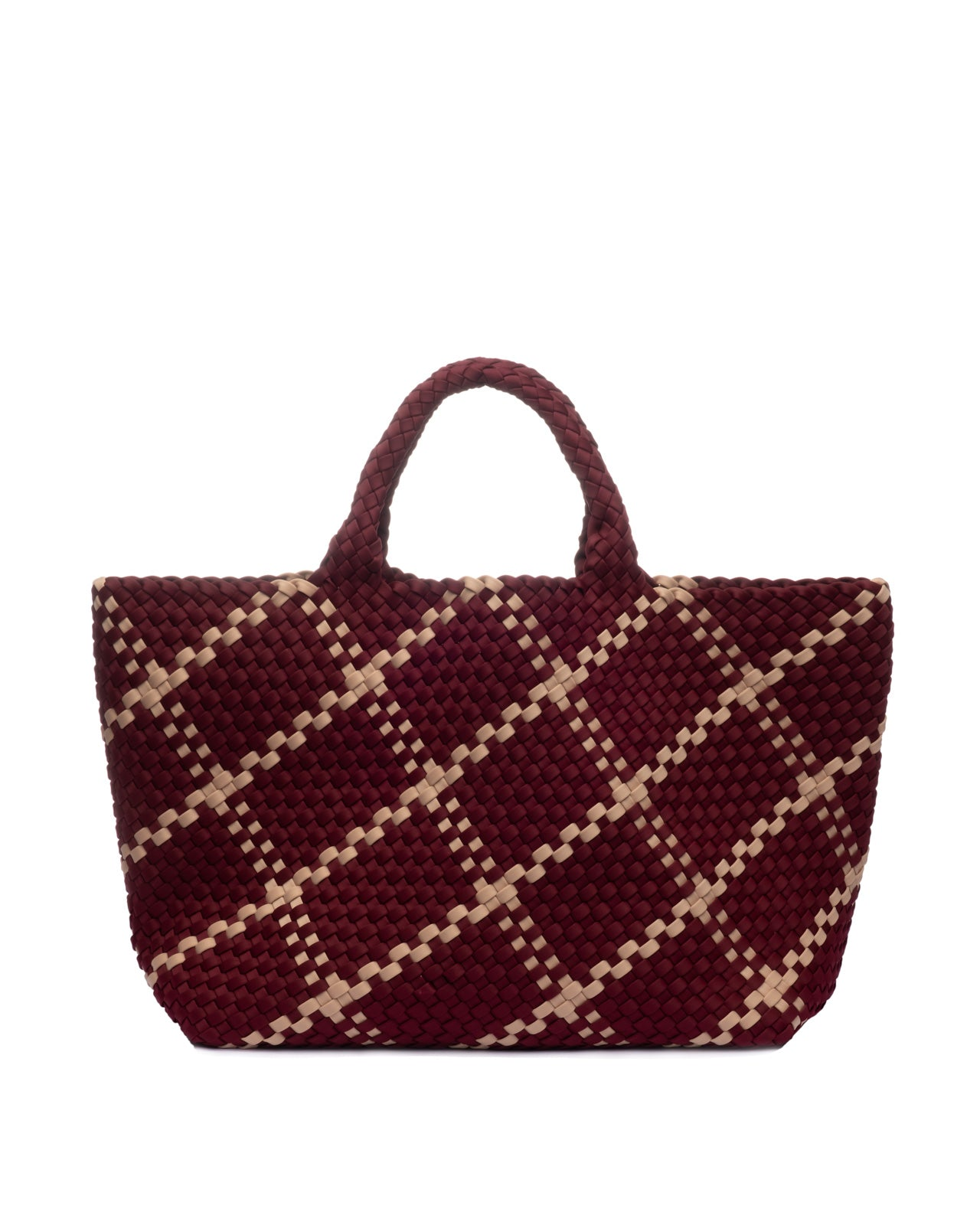 Naghedi St Barth's Large Tote Wine/Nude
