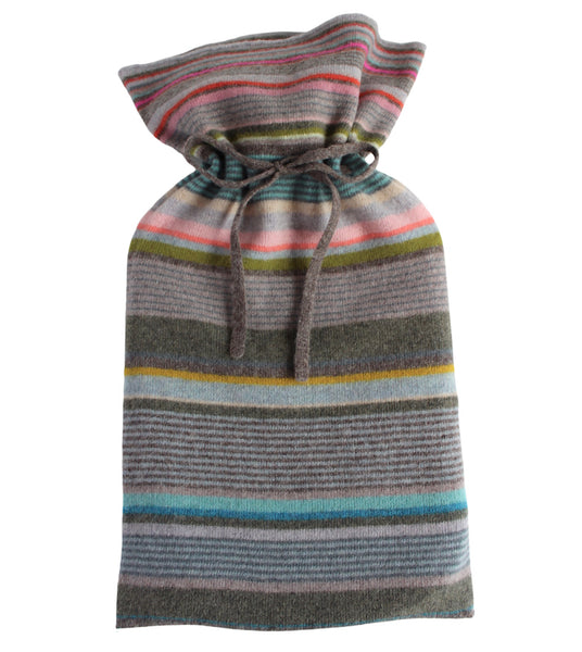 Quince Stripe Hot Water Bottle