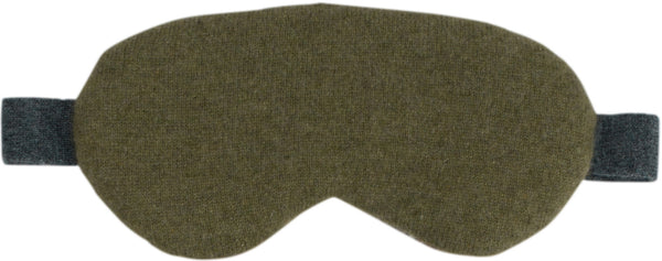 Loden Cashmere Eye Mask
