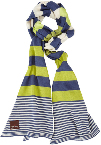 Nautical Stripe Wide Scarf