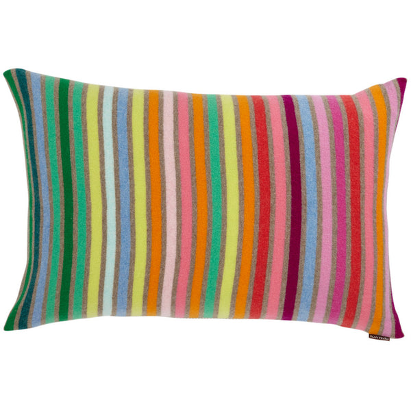 Rainbow Cushion Dark Natural Wide