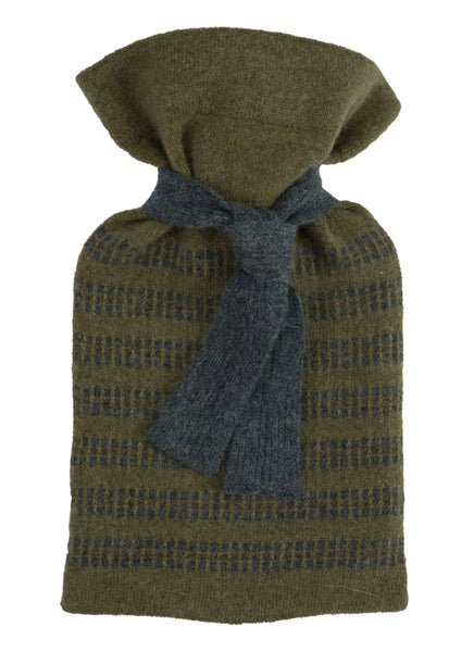 Loden Cashmere Mini Hot Water Bottle