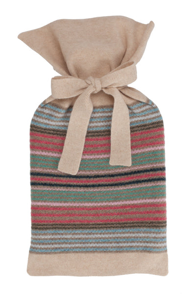 Daphne Rose Stripe Hot Water Bottle