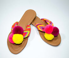 Load image into Gallery viewer, Pom Pom Sandals Mora