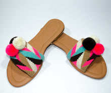 Load image into Gallery viewer, Pom Pom Sandals Curuba