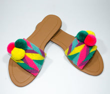 Load image into Gallery viewer, Pom Pom Sandals Uchuva