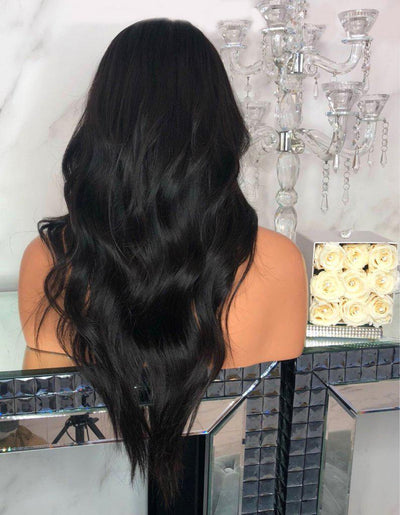 KING KYLIE BLEACHED KNOTS 19 INCHES SYNTHETIC LACE FRONT WIG