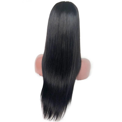 360 Lace Wig Virgin Human Hair Silky Straight