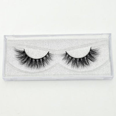 Mink Lashes 3D Mink Eyelashes 100% Cruelty free Lashes Handmade Reusable Natural Eyelashes Popular False Lashes Makeup