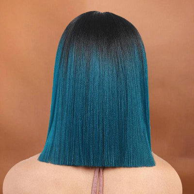 Synthetic Lace Front green Wig!