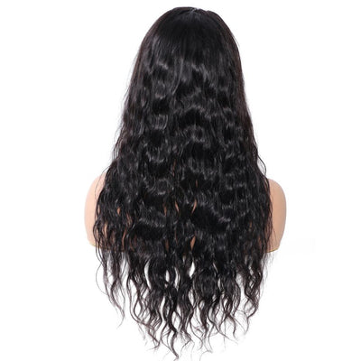 Indian Wavy lace front human hair wig