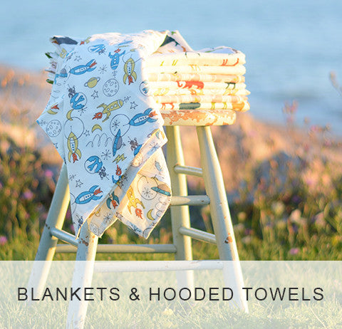 Blankets and Hooded Towels