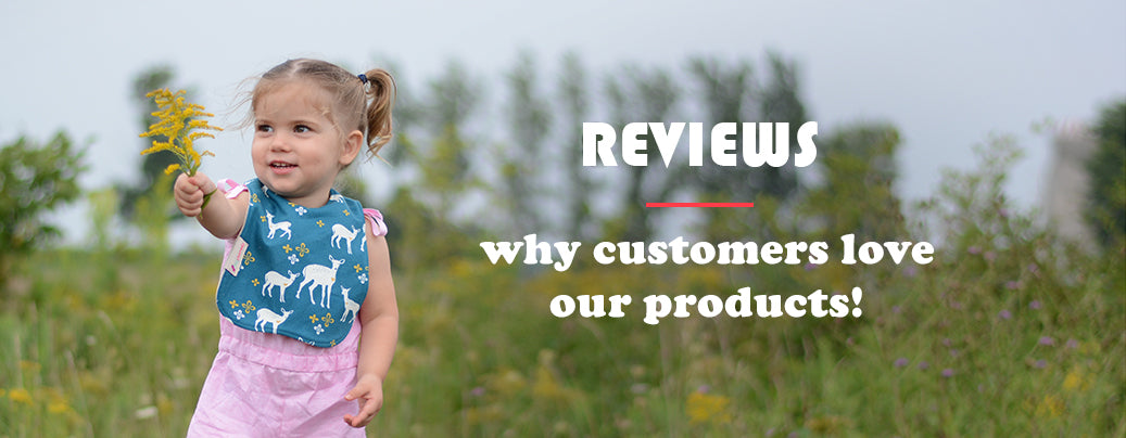 Reviews: why customers love our products