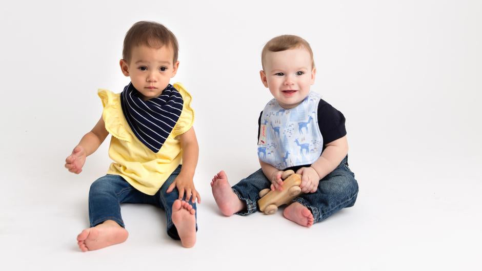 Shop durable organic bibs