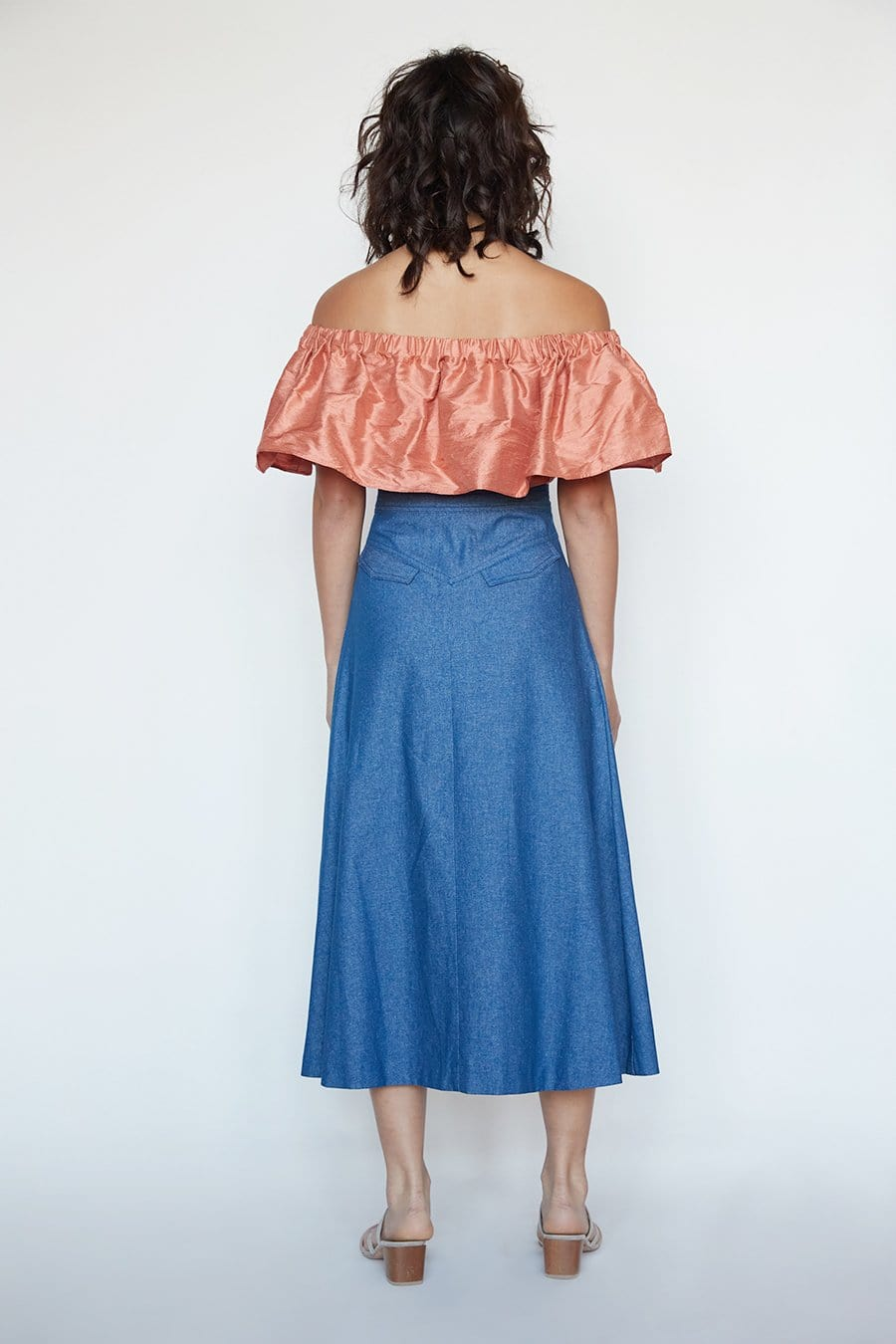 Jolene Skirt in Cotton Twill