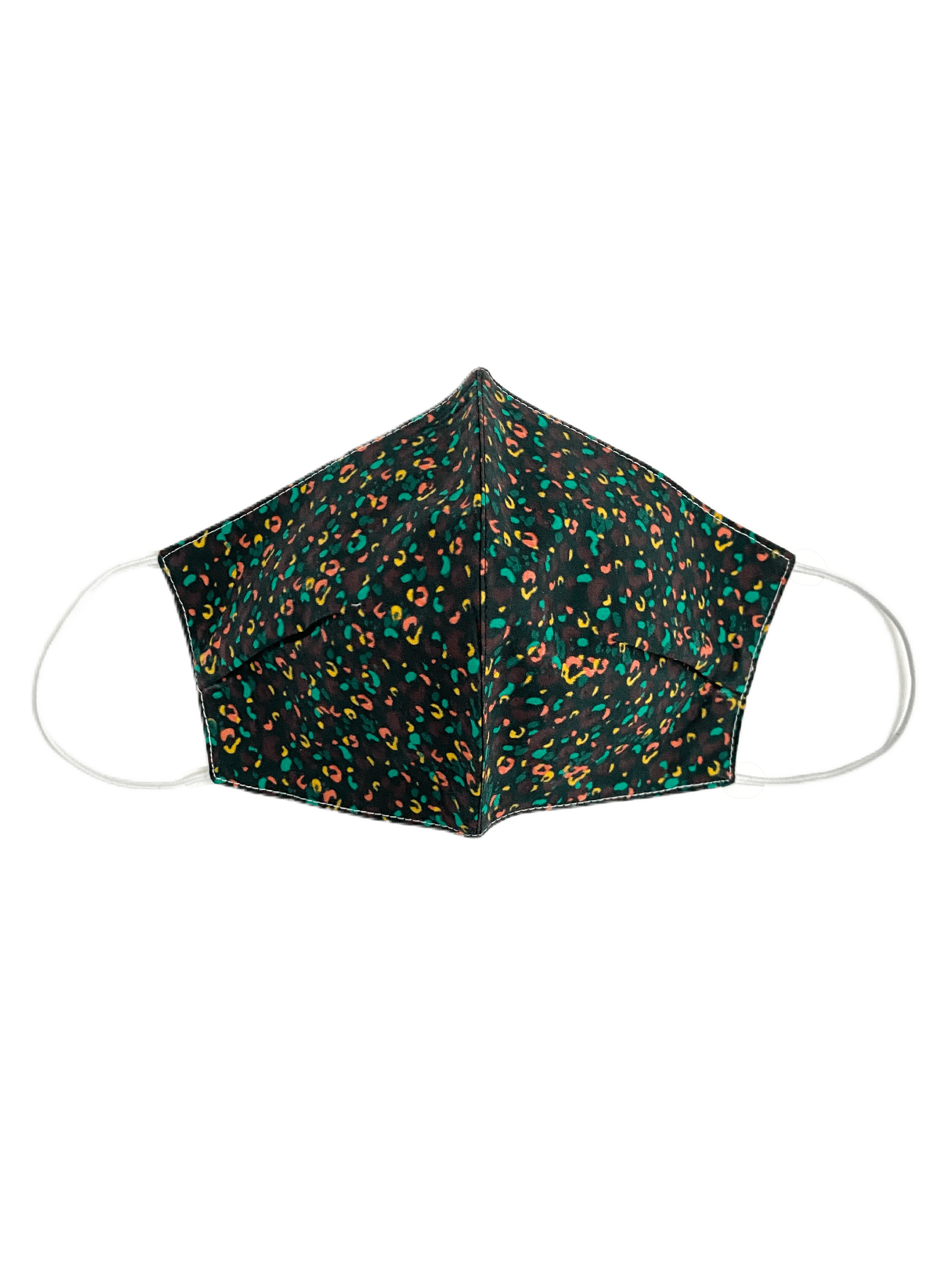 Printed Cotton Fabric Face Masks with filter pocket