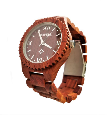 Red Sandalwood All Wood Watch