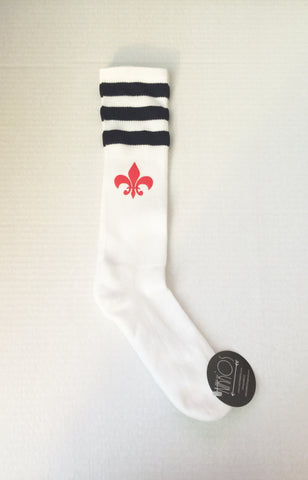 Legacy Socks NAVY/RED
