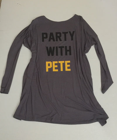 Party With Pete Long Sleeve Tunic/Dress