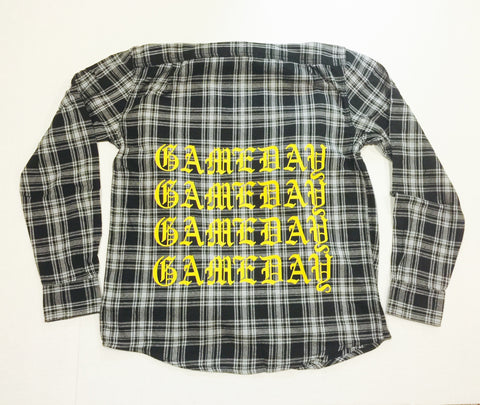 G'DAY FLANNEL - BLK COMBO
