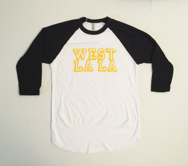 West LaLa Baseball Tee