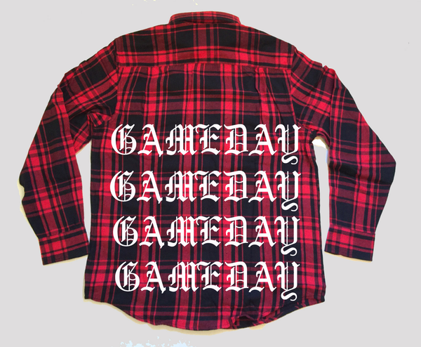 G'DAY FLANNEL - RED COMBO