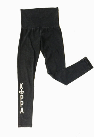 Kappa Legging High Waist Acid Wash