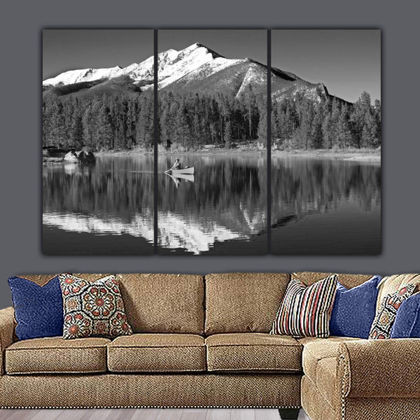 Colorado Lake Canvas Wall Art - Canvas Wall Art - HolyCowCanvas
