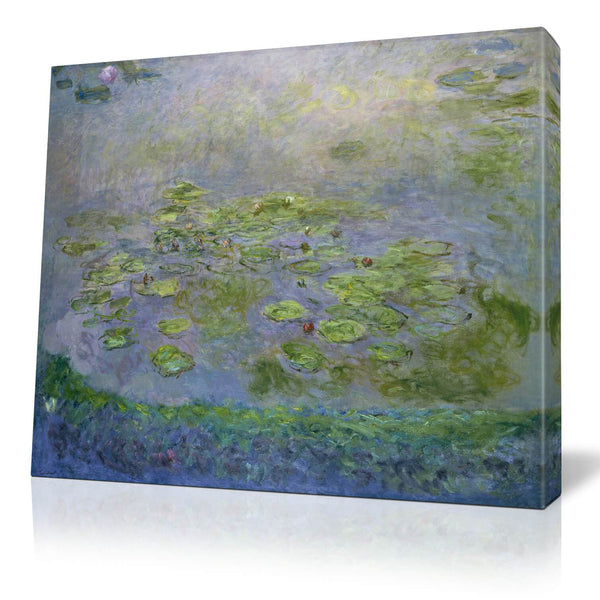 Monet Water Lilies Canvas Wall Art - Canvas Wall Art - HolyCowCanvas
