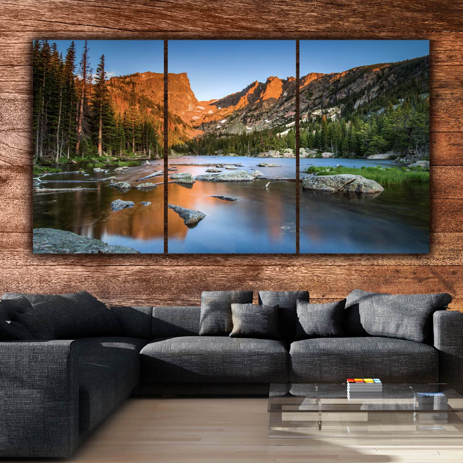 Rocky Mountain National Park Canvas Art Holy Cow Canvas