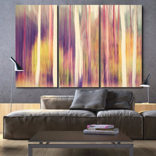 Abstract Trees on Canvas - Wall Art - Canvas Wall Art - HolyCowCanvas