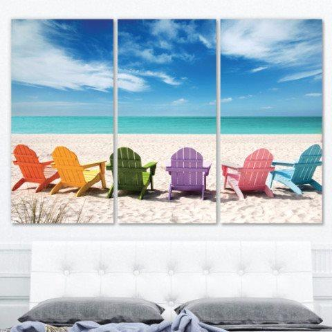 Beach Wall Art on Canvas - Canvas Wall Art - HolyCowCanvas