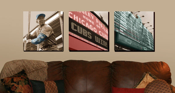 Chicago Cubs Canvas Art - Any Print - Canvas Wall Art - HolyCowCanvas