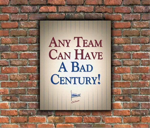 Chicago Cubs Fan Signs - Canvas Wall Art - Canvas Wall Art - HolyCowCanvas