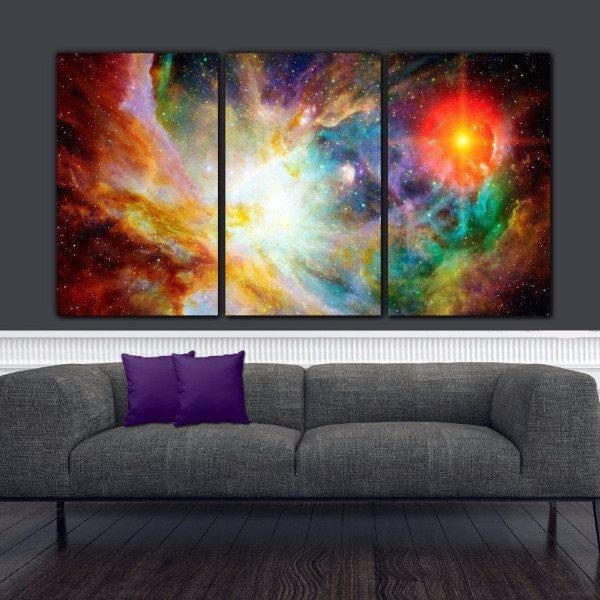 Nebula Canvas Wall Art - Canvas Wall Art - HolyCowCanvas