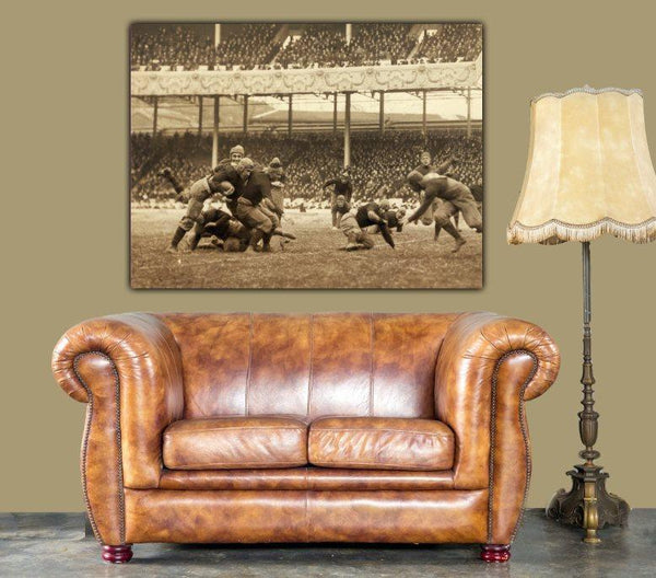 NY Polo Grounds Football Canvas Wall Art - Canvas Wall Art - HolyCowCanvas