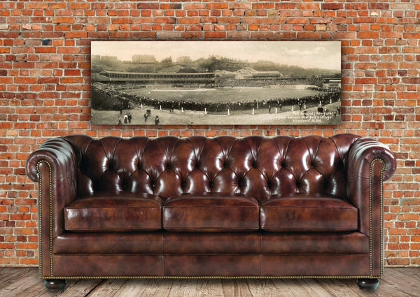 Yankees Wall Art - Vintage Yankees Stadium - Canvas Wall Art - HolyCowCanvas
