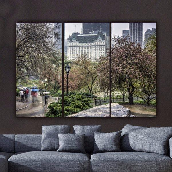 NYC Central Park Canvas Wall Art - Canvas Wall Art - HolyCowCanvas