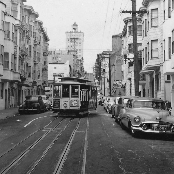 San Francisco Cable Car Canvas Wall Art - Canvas Wall Art - HolyCowCanvas