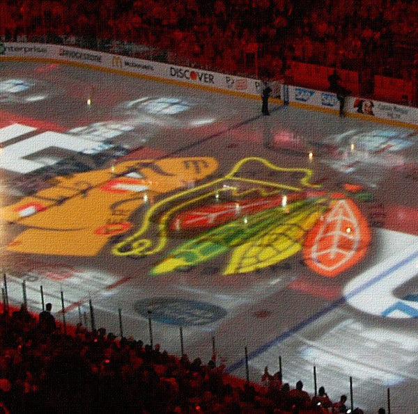 Chicago Blackhawks Stanley Cup Set - Canvas Wall Art - HolyCowCanvas