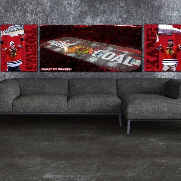 Stanley Cup Championship Set - Canvas Wall Art - HolyCowCanvas