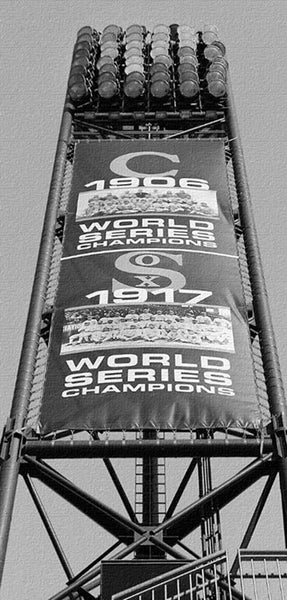 White Sox World Series Banner Canvas Art - Canvas Wall Art - HolyCowCanvas