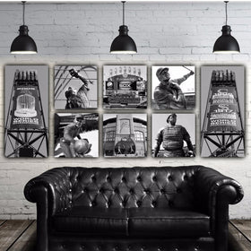 White Sox Canvas Wall Art Set