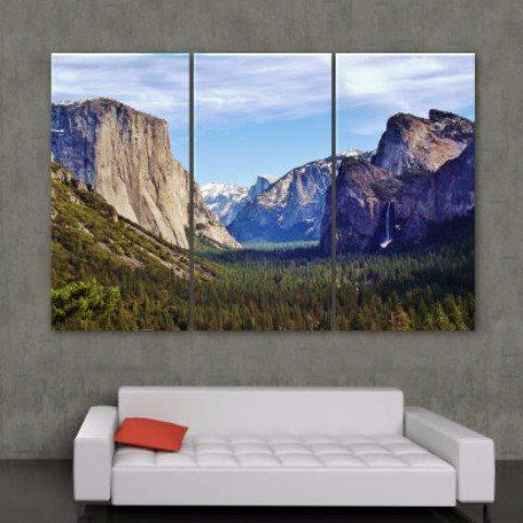 Yosemite National Park Canvas Wall Art Holycowcanvas