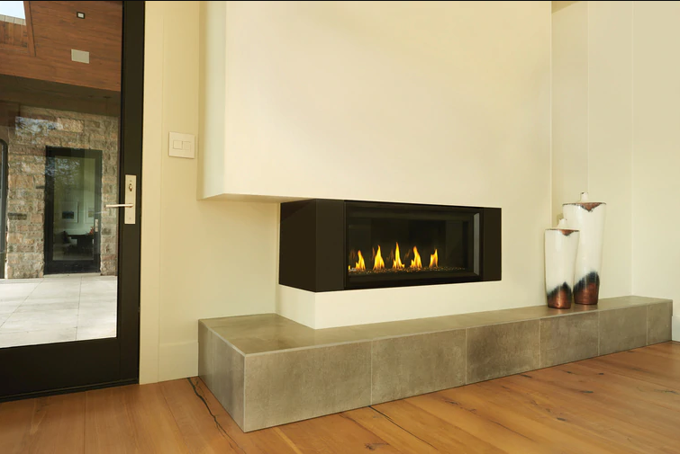 Napoleon Vector  50 See Thru Direct Vent Gas Fireplace LV50N2-2