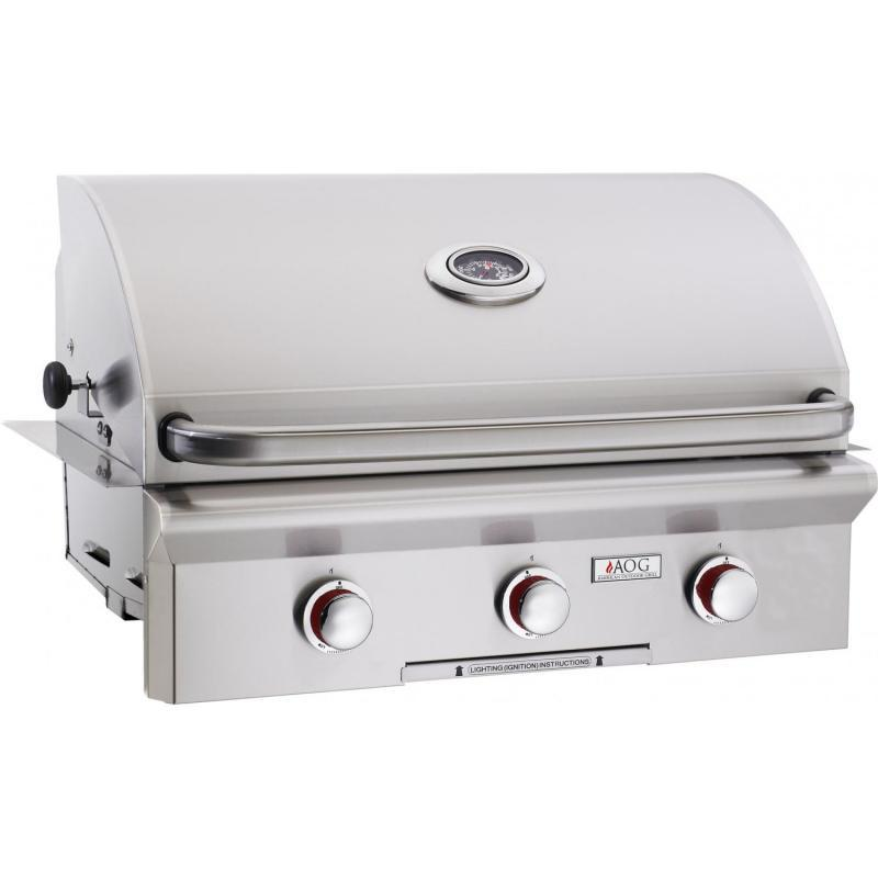 "American Outdoor Grill 30"" RPD-With Lights Si Natural Gas 30""Nbt"