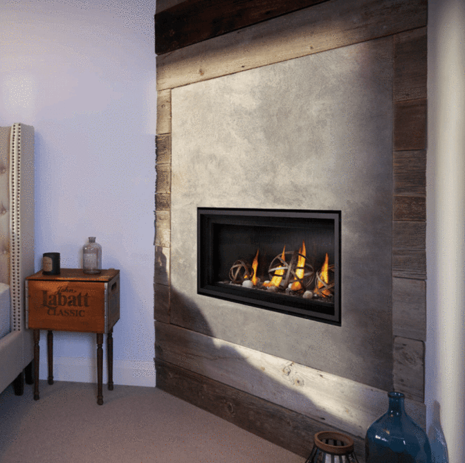 Napoleon Vector  74 Direct Vent Gas Fireplace LV74N