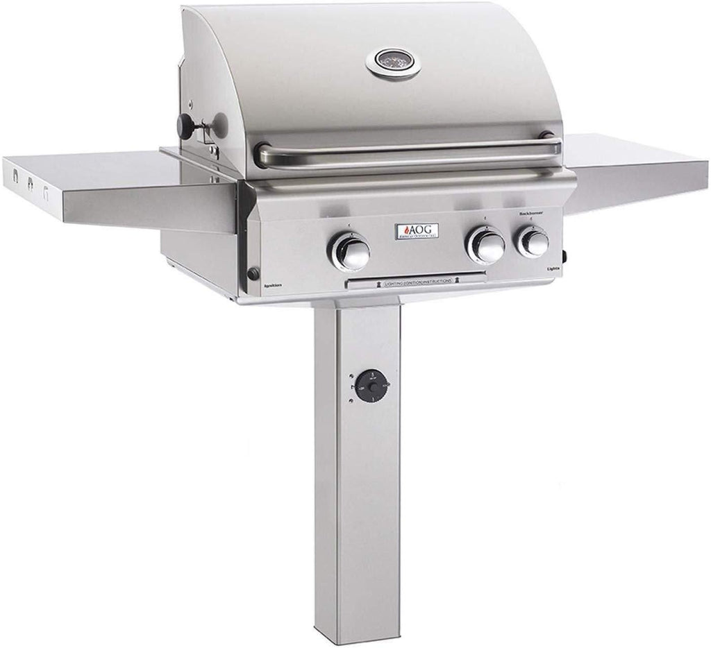 "American Outdoor Grill 24"" In-Grnd Lights Natural Gas 24""NGL"