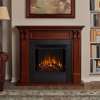 Real Flame Ashley Indoor Electric Fireplace 7100E