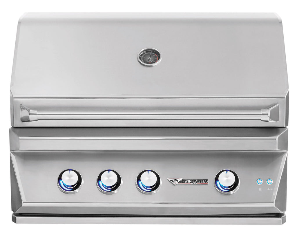 "Twin Eagles 36"" Premium Built-In Outdoor Gas Grill"